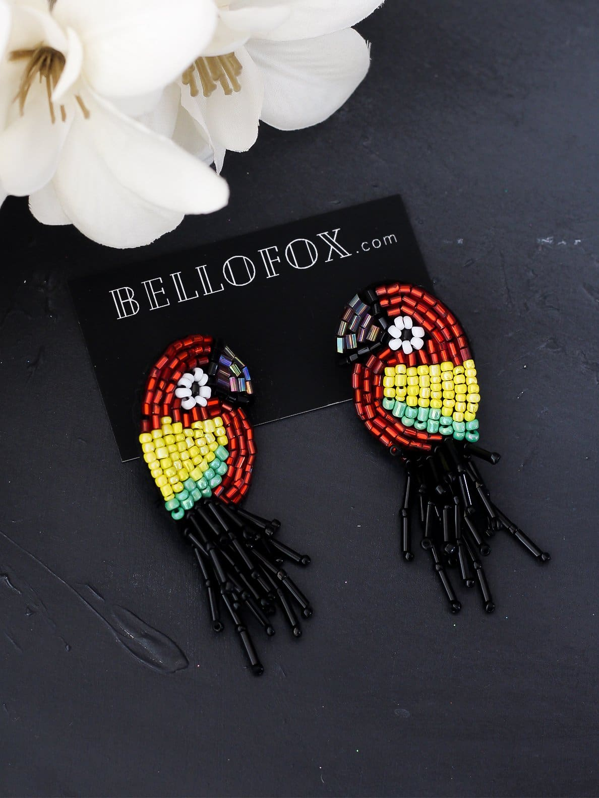 Bellofox Rice Parrots Earrings BE3468
