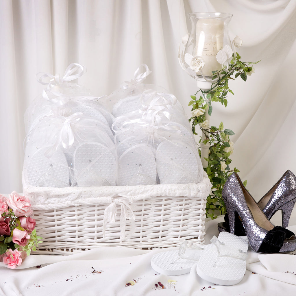 White Wedding Party Pack
