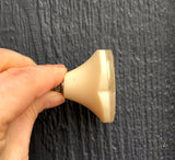 Gold thread knob