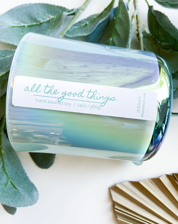 'all the good things' 14oz soy candle