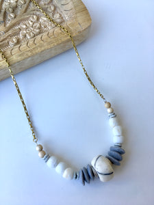 Seas boho necklace
