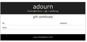 Gift certificate $10