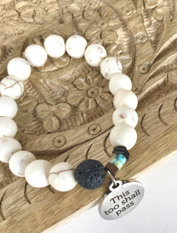 Essential Oil Mala Bracelet