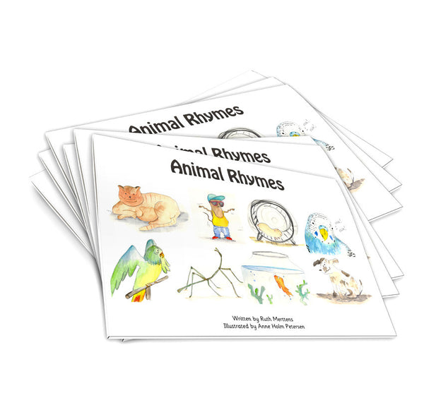 Animal Rhymes - pack of 6