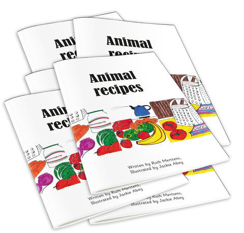Animal Recipes - pack of 6