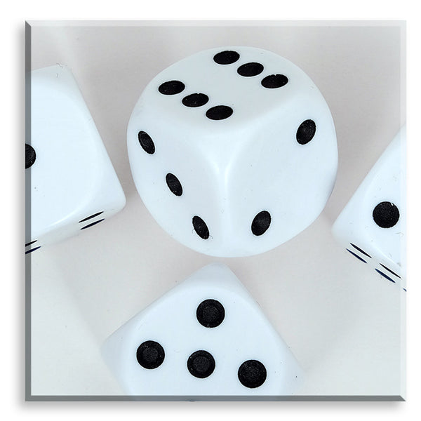 1-6 Dice - White (Large)
