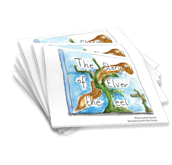 The Story of Elver the eel - pack of 6