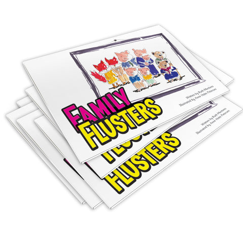 Family Flusters - pack of 6
