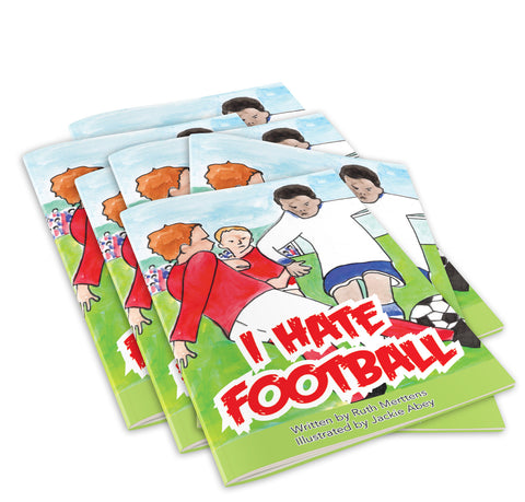 I Hate Football - pack of 6