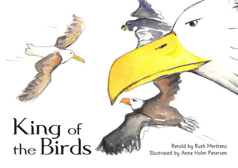 King of the birds - pack of 6