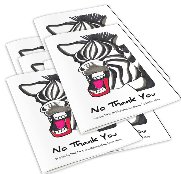 No Thank You - pack of 6