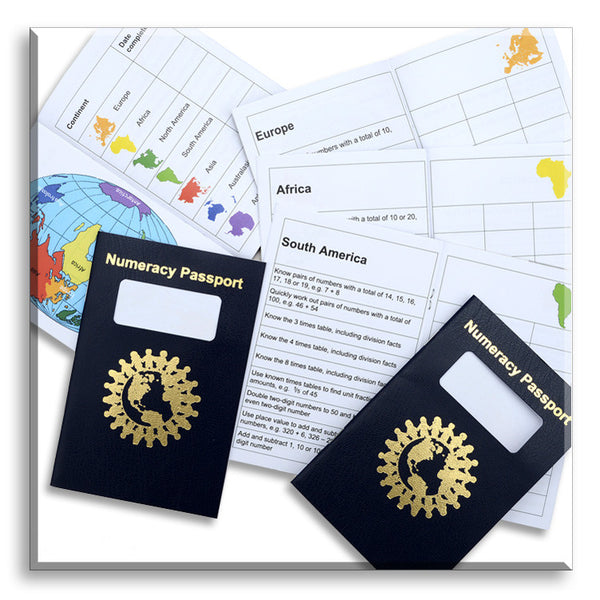 Numeracy Passport - Class pack of 30