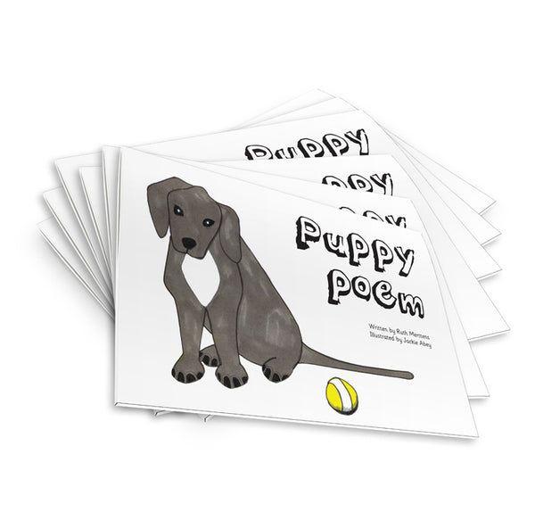 Puppy Poem - pack of 6