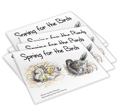 New! Spring for the Birds - pack of 6