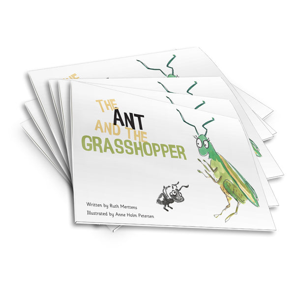 The Ant and the Grasshopper - pack of 6