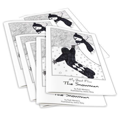 My Best Film...The Snowman - pack of 6