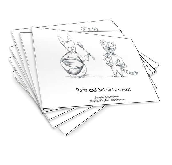 Boris and Sid make a mess - pack of 6