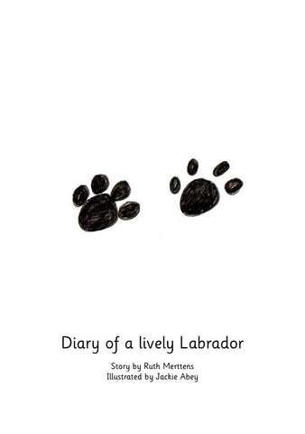 Diary of a lively Labrador - pack of 6