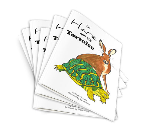 New! The Hare and the Tortoise - pack of 6