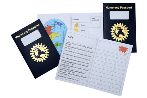 Numeracy Passport - Top Up pack of 10