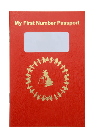 My First Number Passport - Class pack of 30