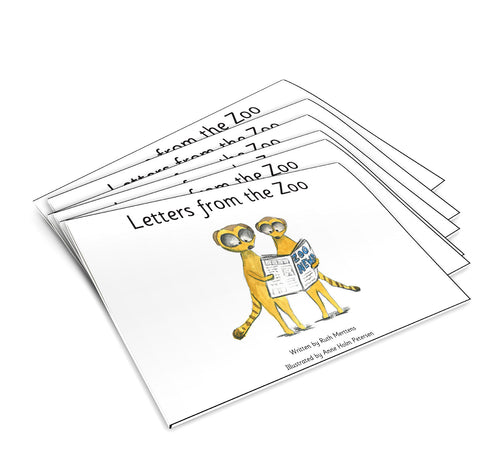 Letters from the zoo - pack of 6
