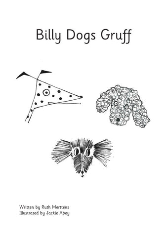 Billy Dogs Gruff - pack of 6