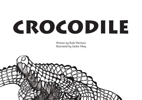 Crocodile - pack of 6