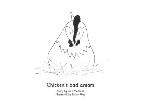 Chicken's bad dream - pack of 6