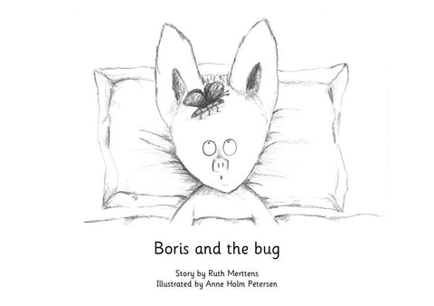 Boris and the bug - pack of 6