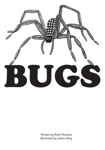 Bugs - pack of 6