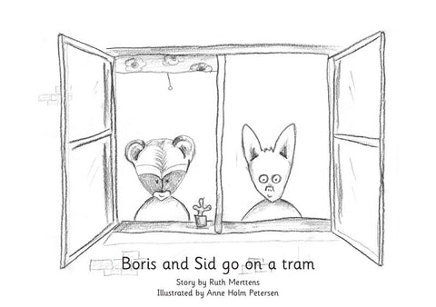 Boris and Sid go on a tram - pack of 6