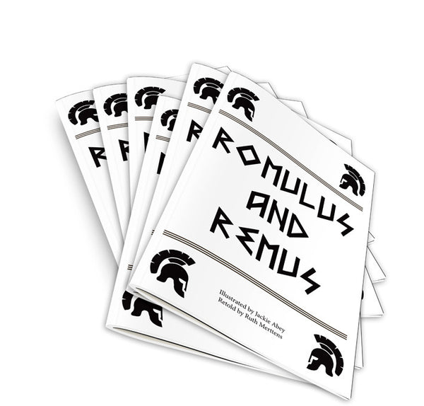 Romulus and Remus - pack of 6