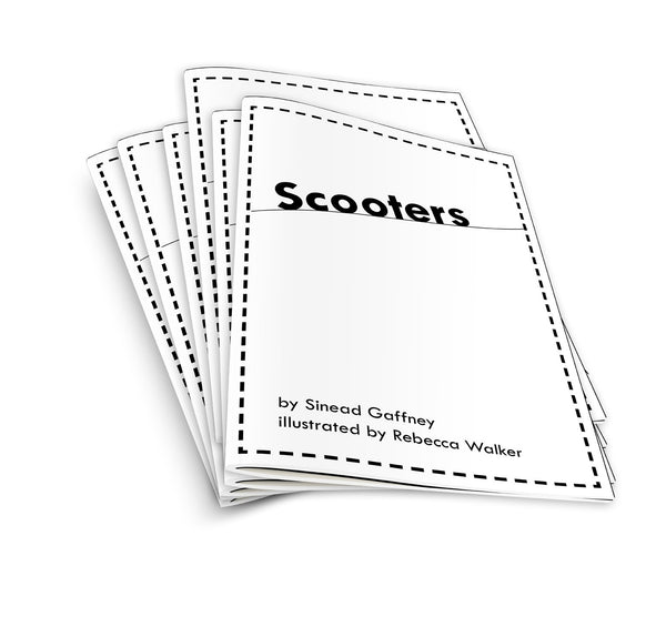 Scooters - pack of 6