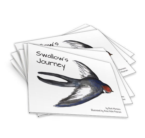 Swallow's Journey - pack of 6