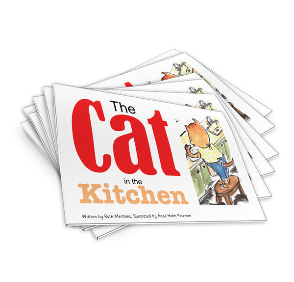 The Cat in the Kitchen - pack of 6