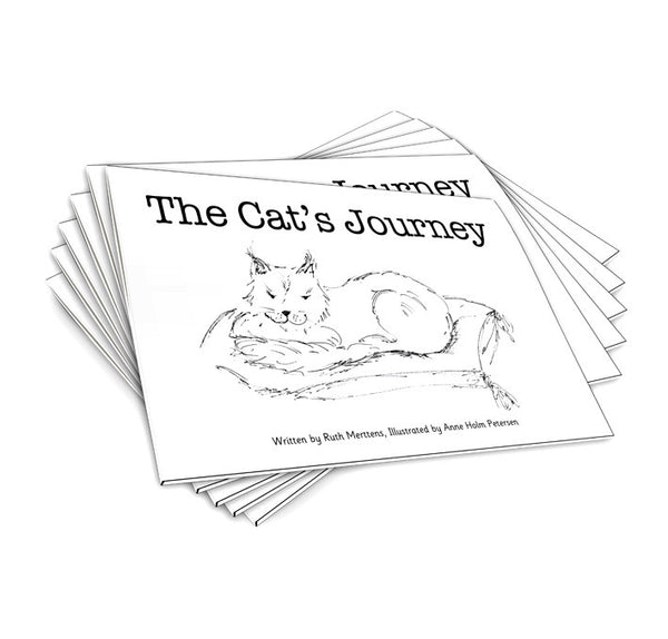 The Cat's Journey - pack of 6