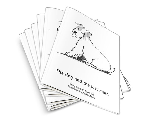 Dog and the lost mum - pack of 6