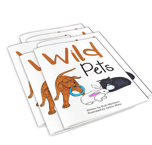Wild Pets - pack of 6