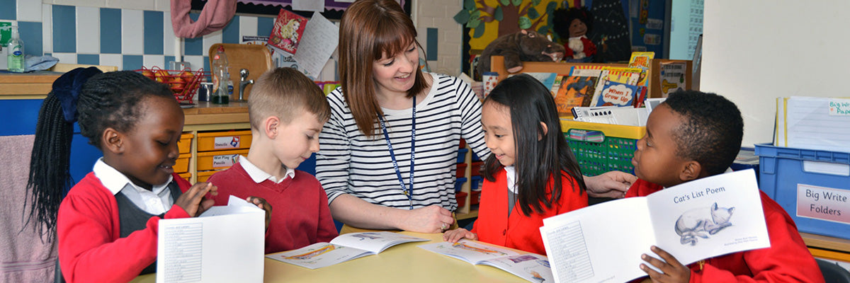 Hamilton Education Group Readers being used in a classroom