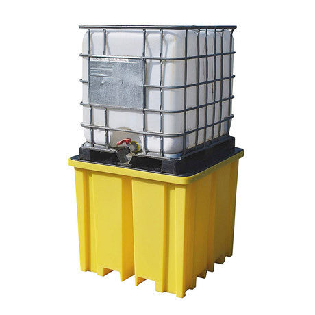 IBC Spill Pallet with 4 way FLT Access for 1 x 1000ltr IBC BB1FW