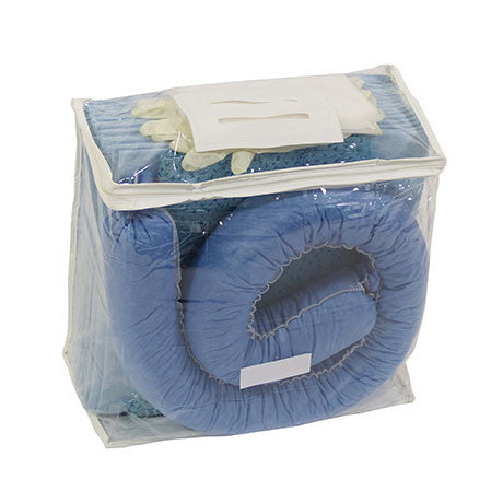 Blue Oil Selective Spill Kit in a Clear Bag KBA1