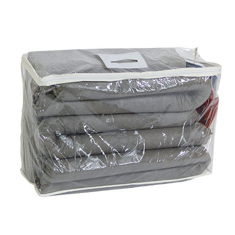 Grey Universal Spill Kit in a Clear Bag KGB1