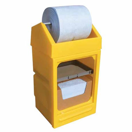 Open Fronted Dispensing Stand with Roll Holder