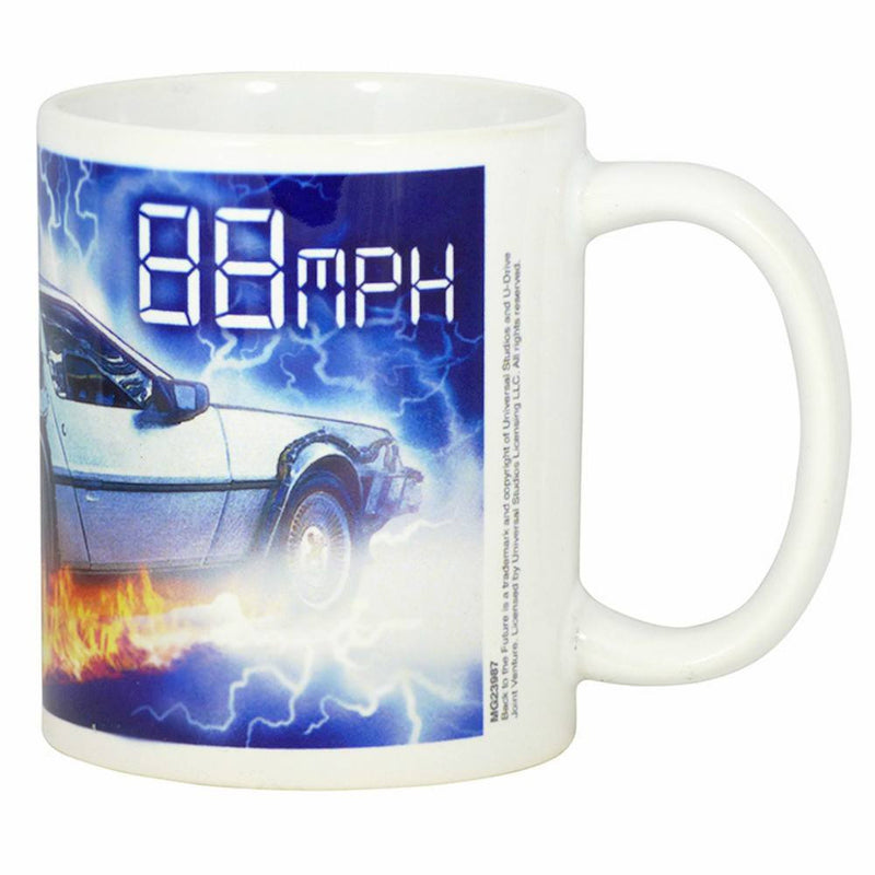 Back to the Future 88mph Boxed Mug