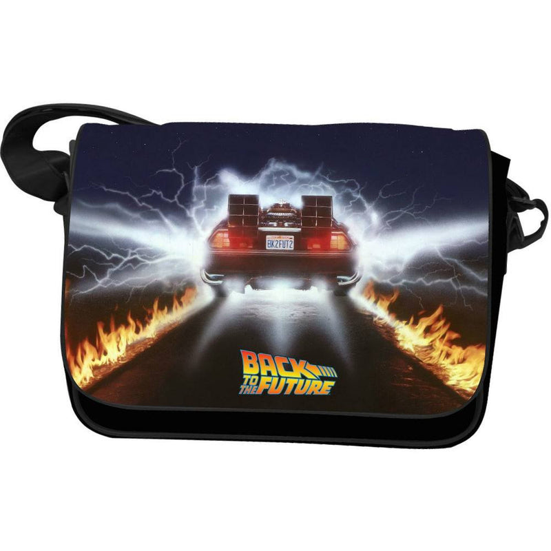 Back to the Future Delorean Tails Messenger Bag