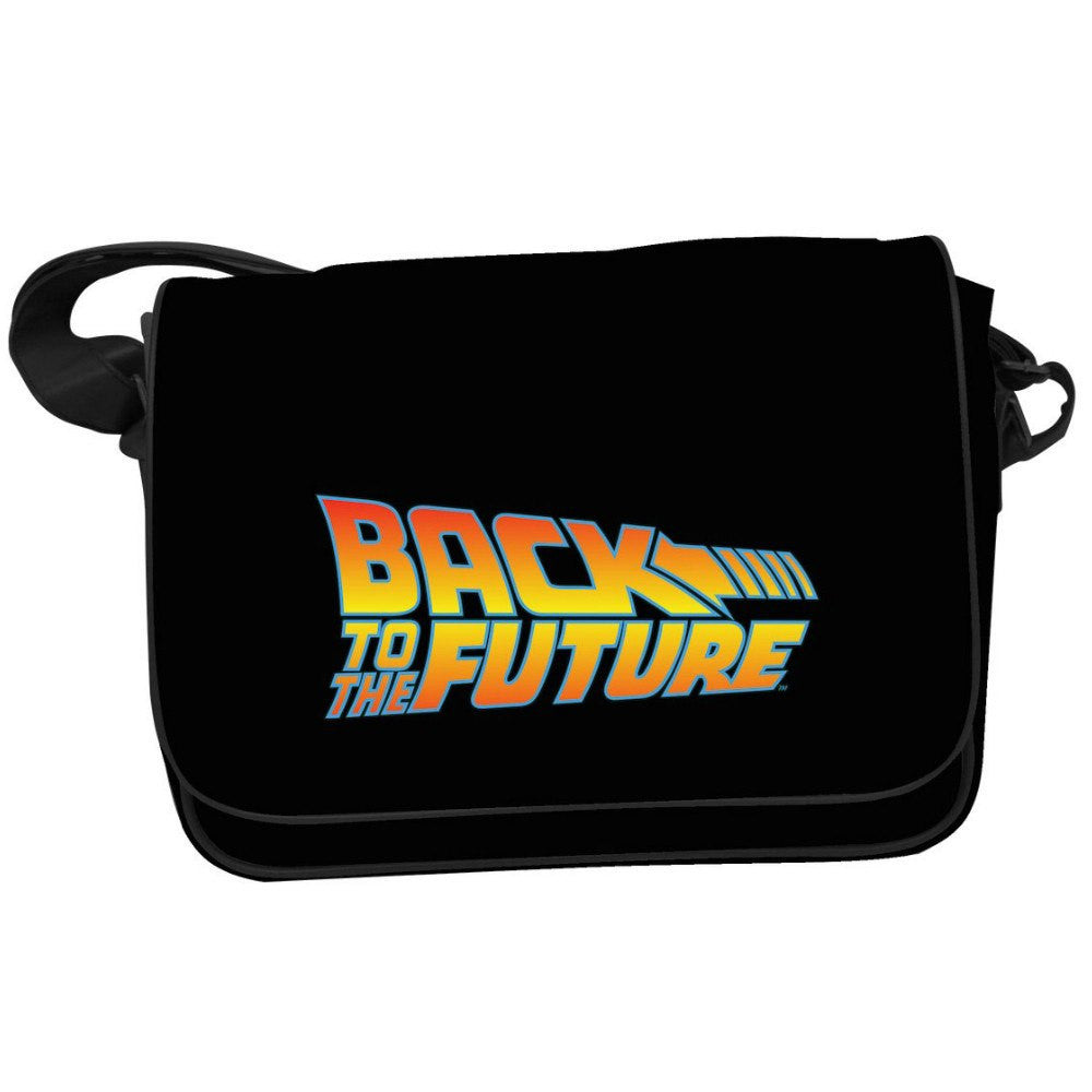 Back to the Future Movie Logo Messenger Bag