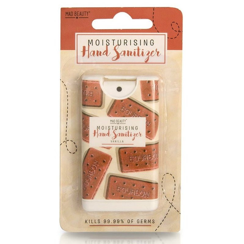 Bourbon Biscuit Moisturising Vanilla Hand Sanitizer Spray
