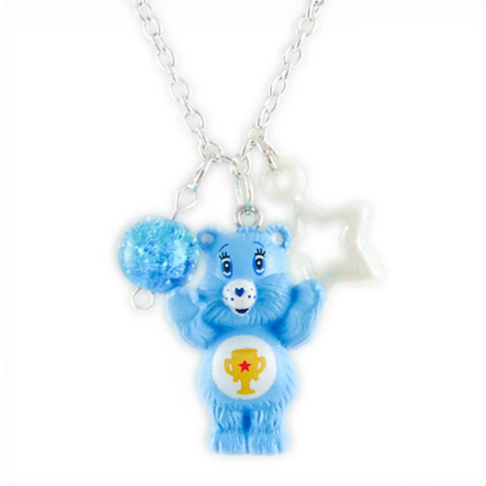 Care Bears Champ Bear Charm Necklace Pendant