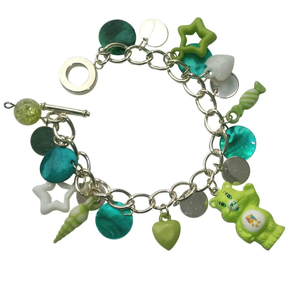 Care Bears Do Your Best Bear Charm Bracelet Jewellery